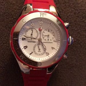 Women's Red Tahitian Jelly Chronograph Watch